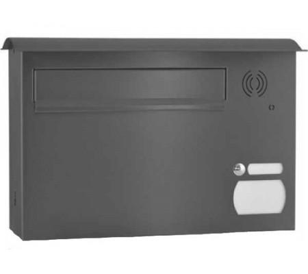 Briefkasten Easy mit Klingeltaster Vorrüstung Gegensprechanlage